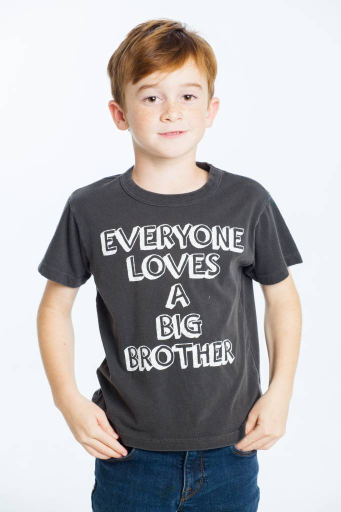 CHASER Vintage Jersey Short Sleeve Tee, Big Brother