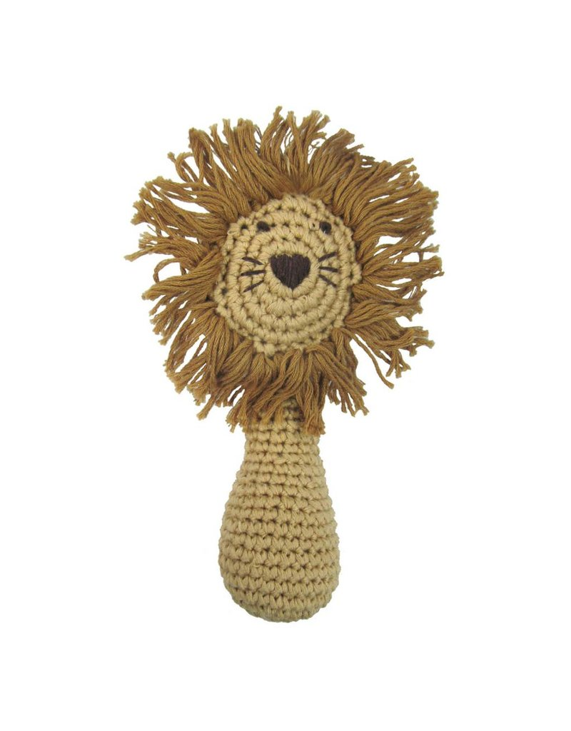 ALBETTA Crochet Lion Rattle