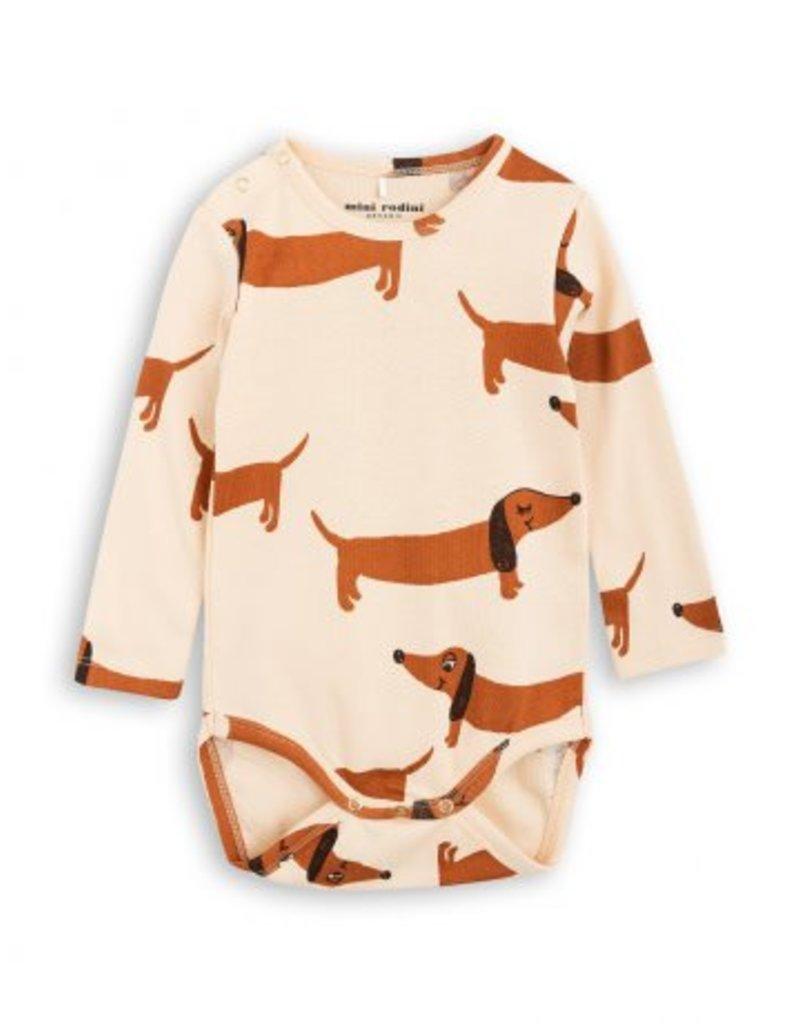 MINI RODINI Dog Long Sleeve Body