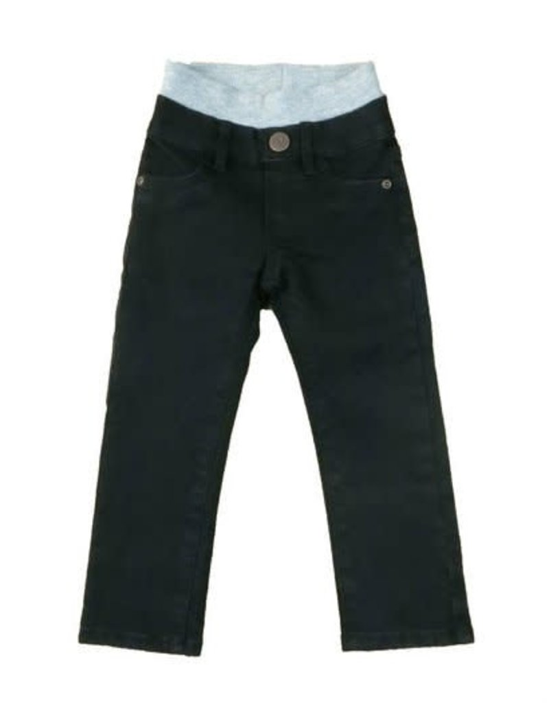 HOONANA Black Denim Pants
