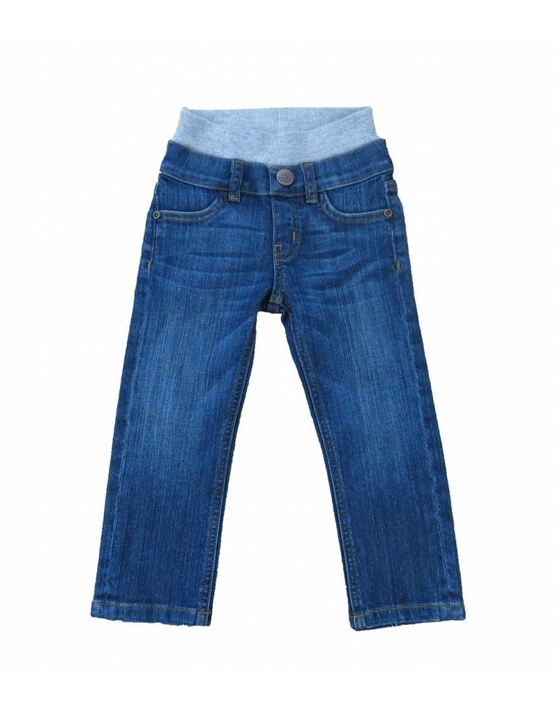 HOONANA Medium Wash Denim Pants