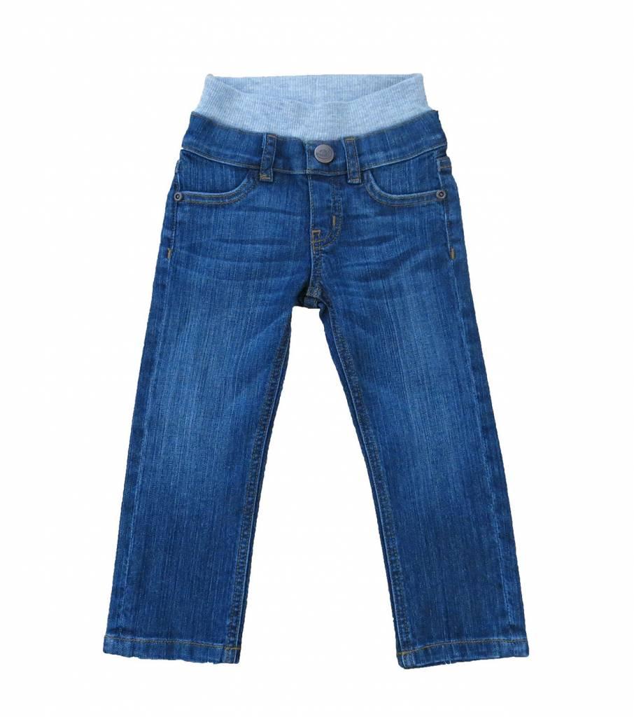 HOONANA Medium Wash Denim Pants