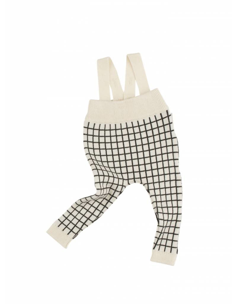 TINY COTTONS Grid Baby Pant