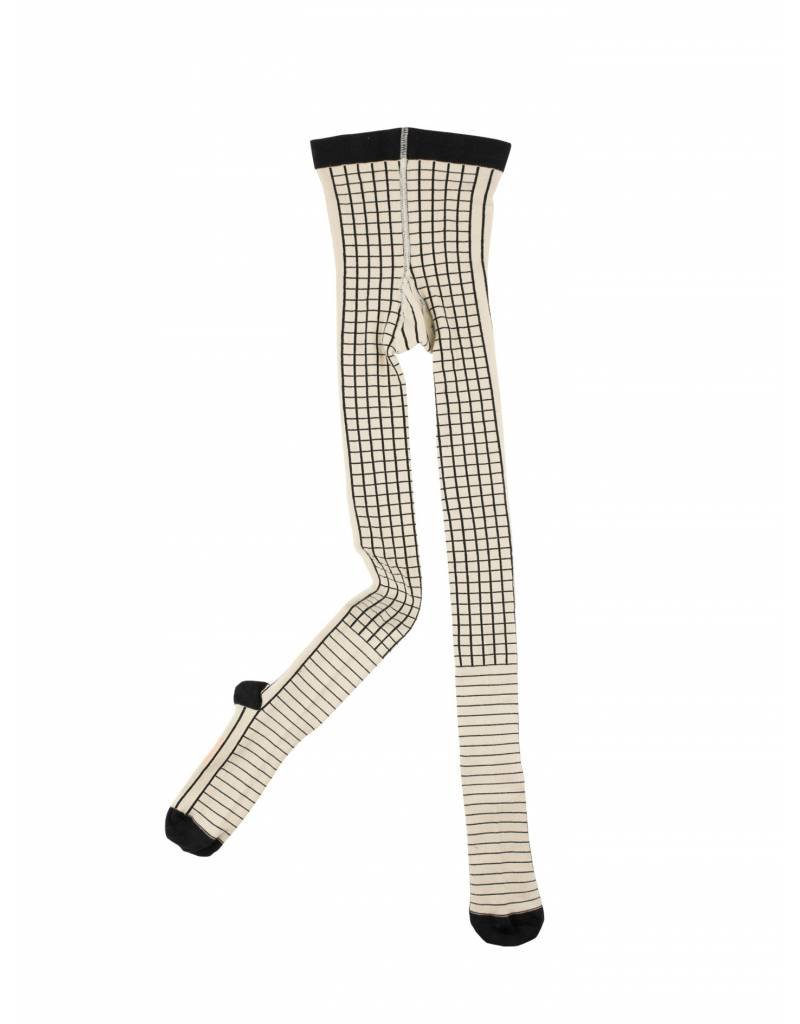 TINY COTTONS Lines & Grids Tights