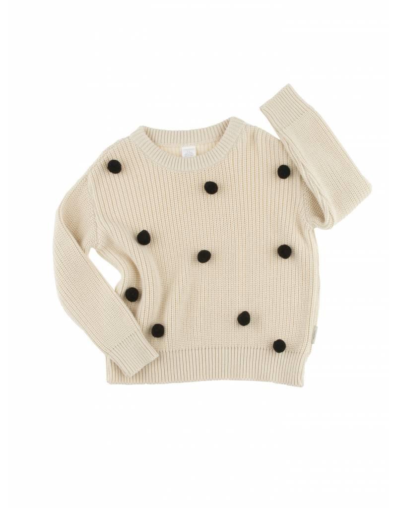 TINY COTTONS Pom Poms Sweater Oversize