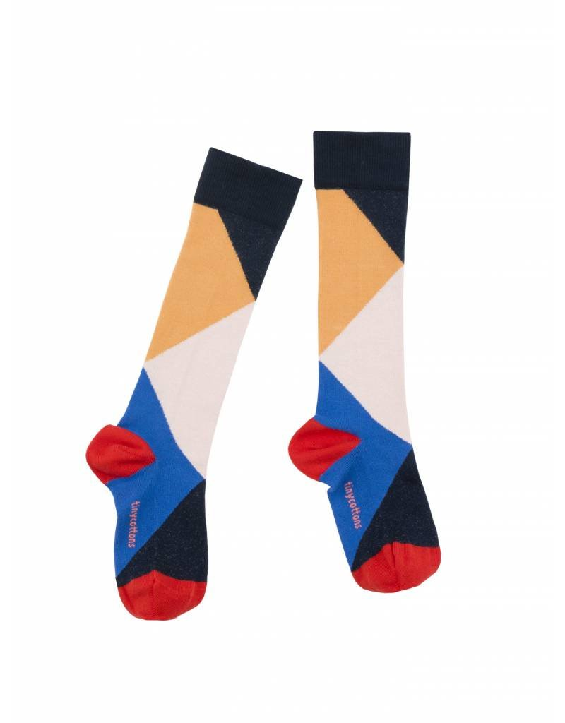TINY COTTONS Geometric High Socks