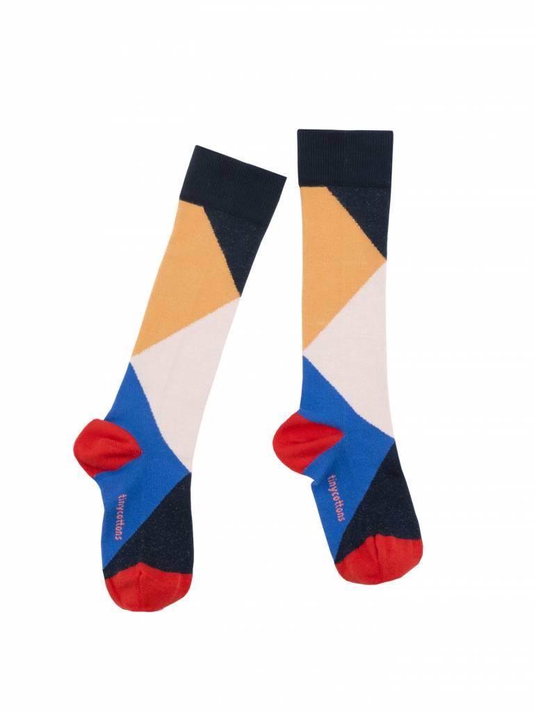 TINY COTTONS Geometric High Socks
