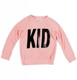 "JOAH LOVE ""Kid"" Print Faux Cashmere Sweater"