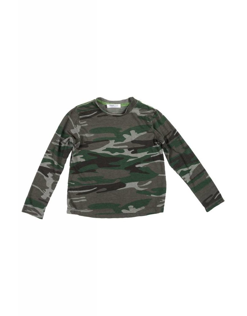 JOAH LOVE Camo Overdyed Tee