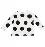 JOAH LOVE Dot Print French Terry Pullover