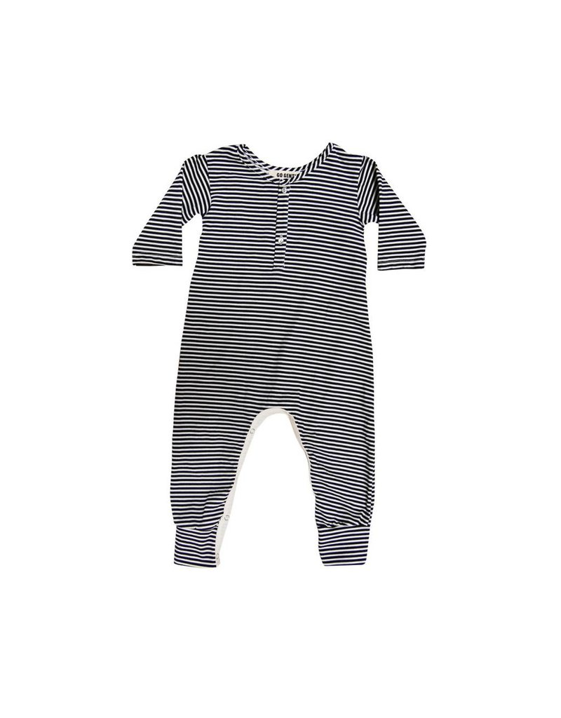 GOGENTLYNATION Placket Jumpsuit
