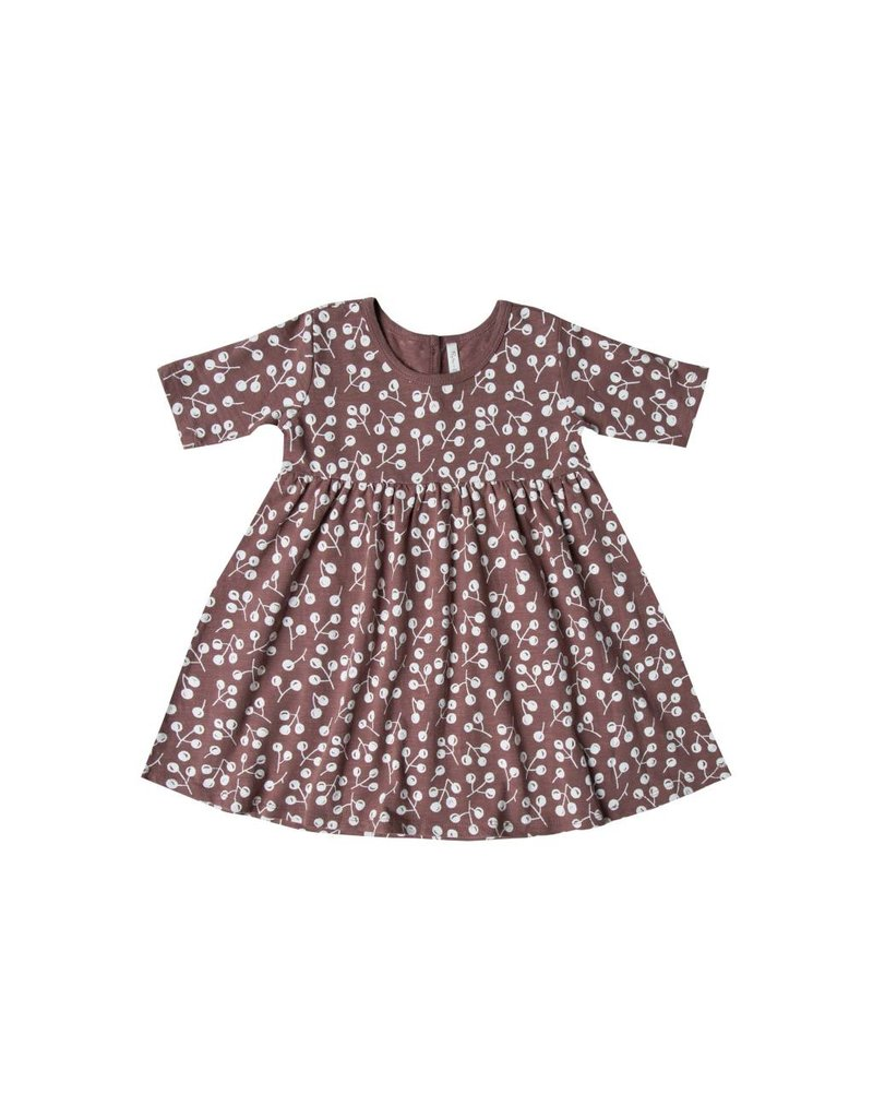 RYLEE AND CRU Winter Berry Dress