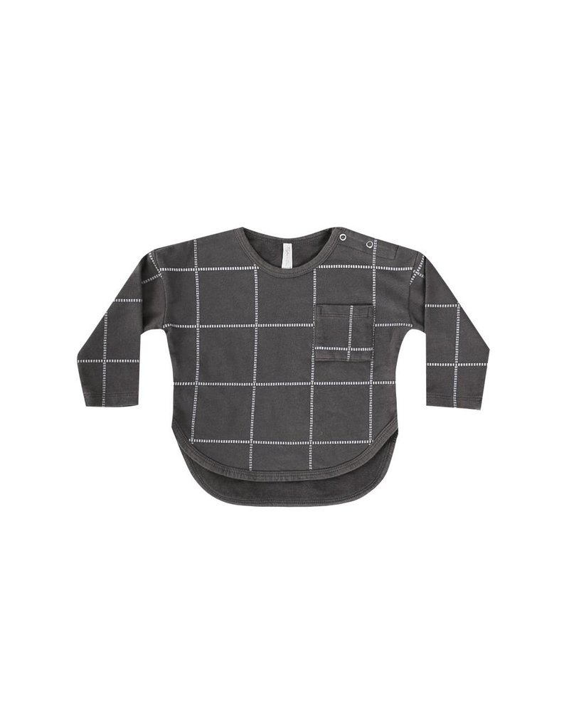 RYLEE AND CRU Grid Longsleeve Tee
