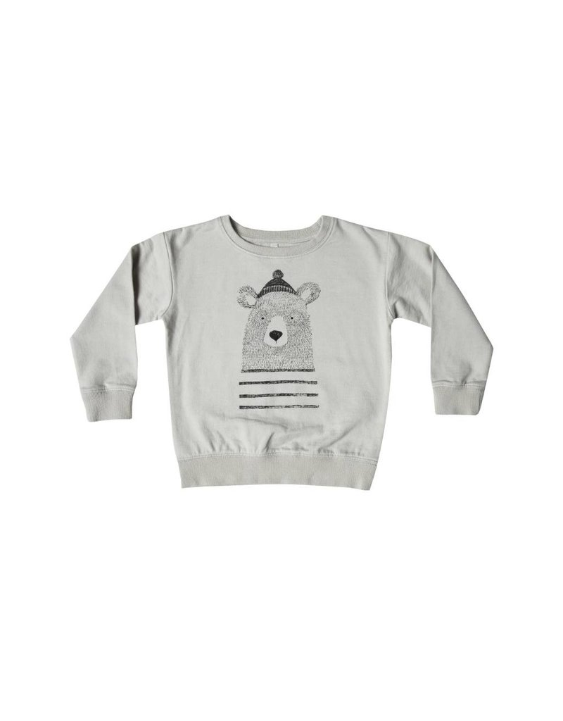 RYLEE AND CRU Mr Bear Sweatshirt