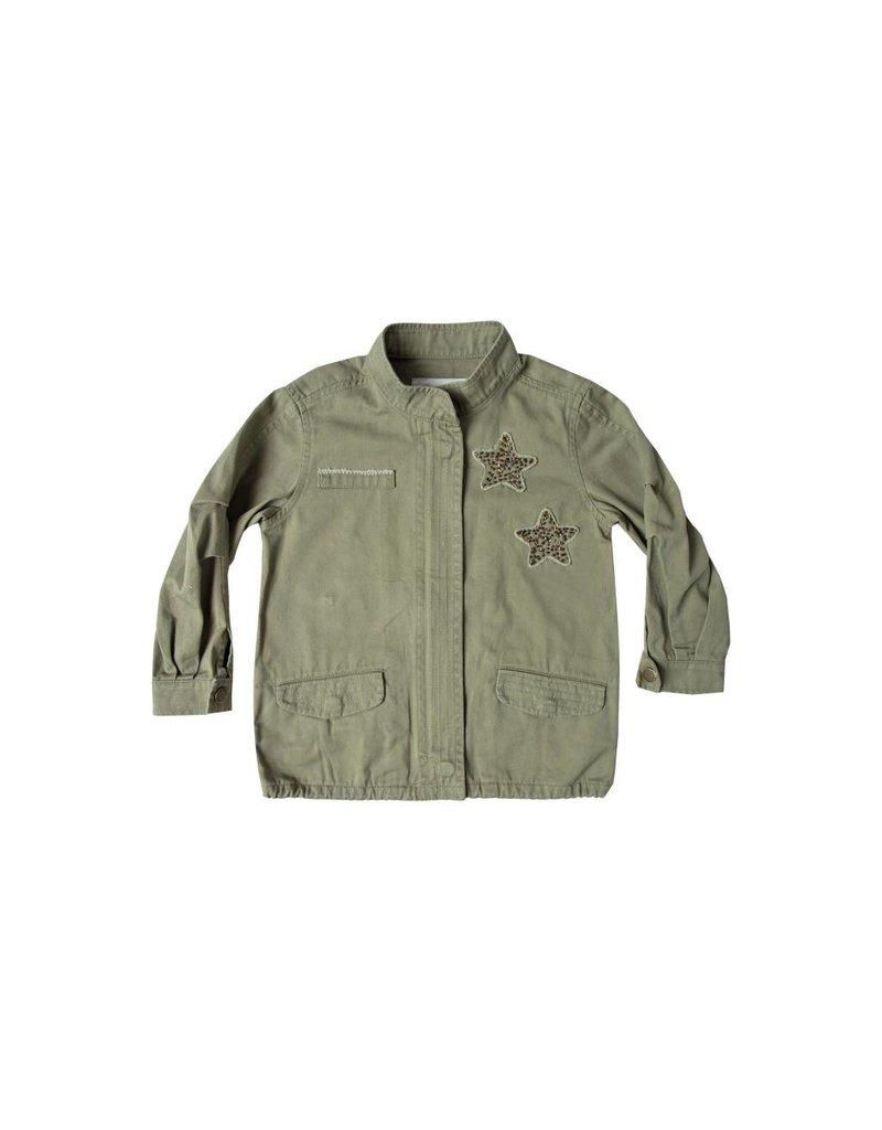 RYLEE AND CRU Dreamer Military Jacket