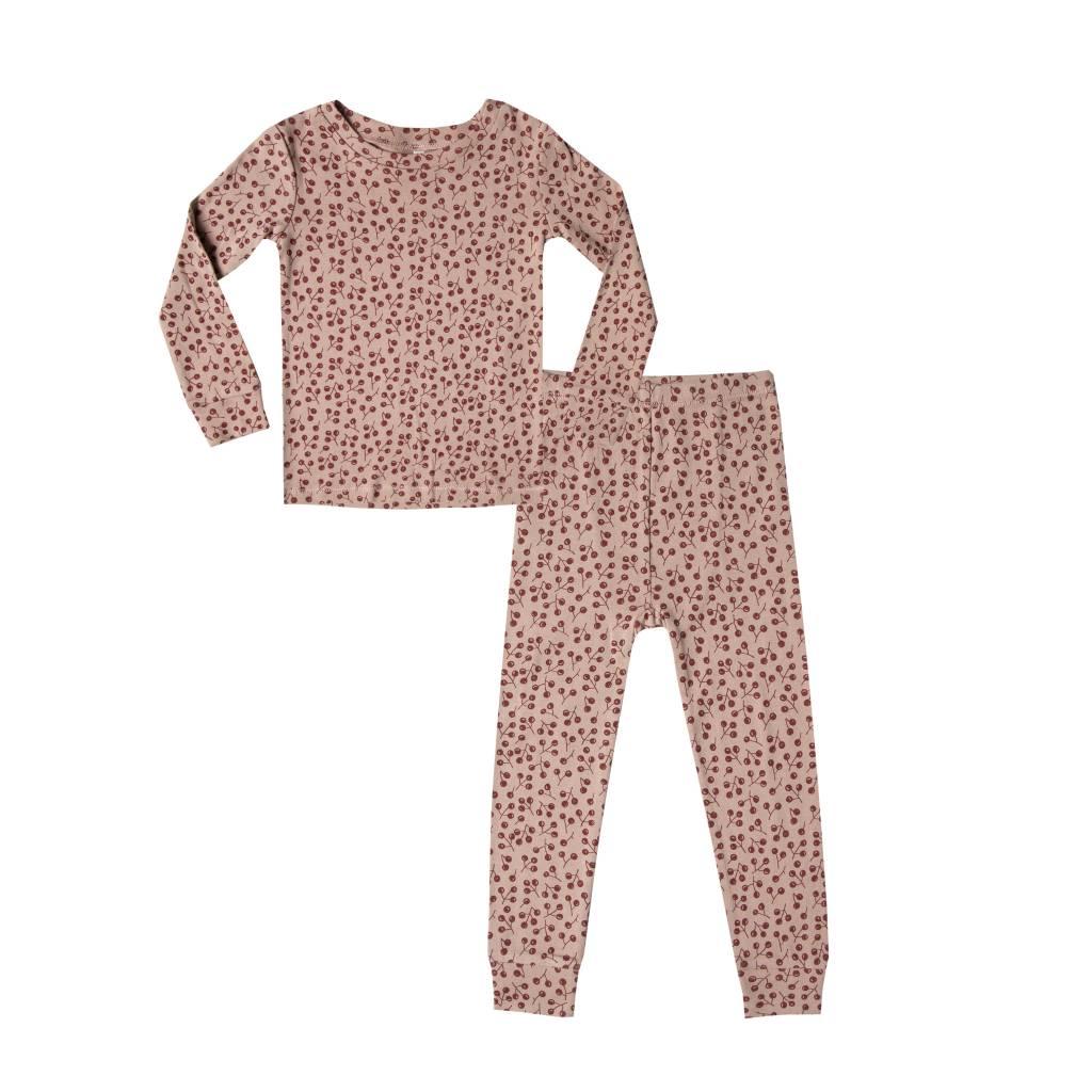 RYLEE AND CRU Winter Berry Pajama Set