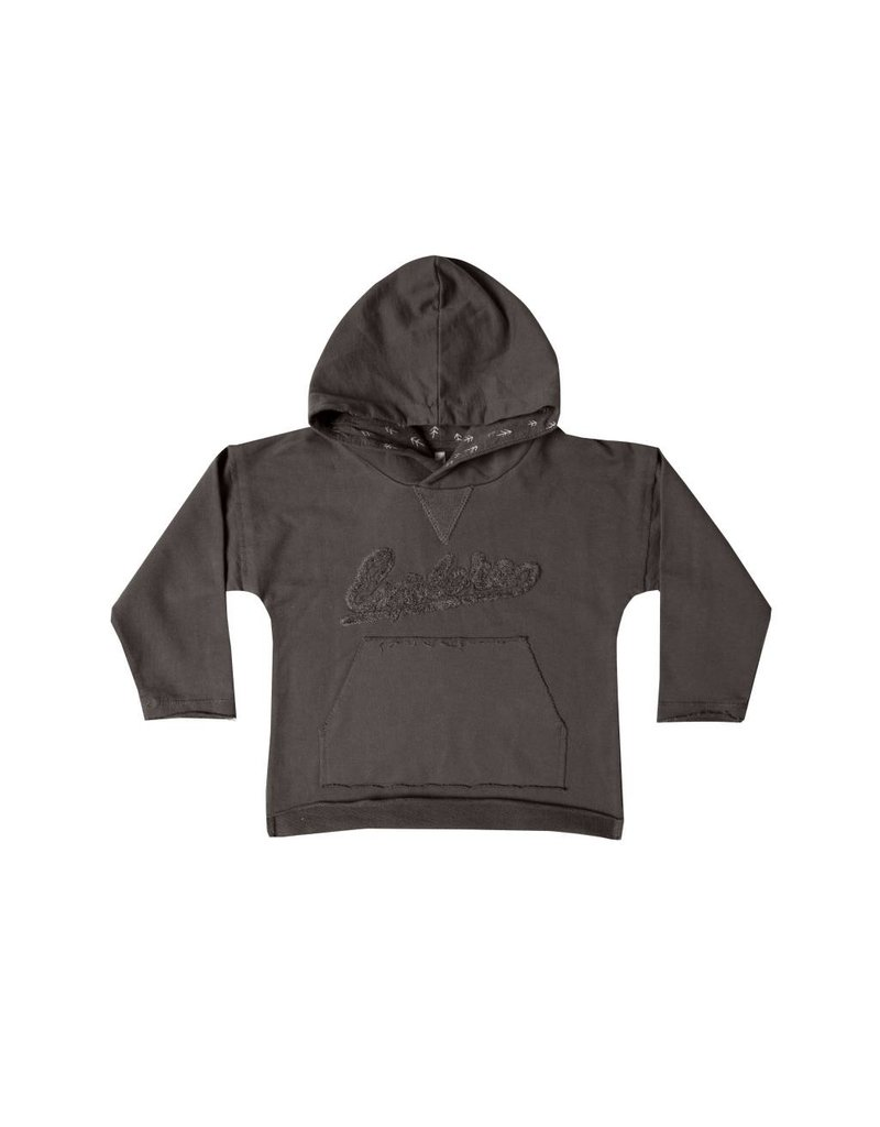 RYLEE AND CRU Explore Raw Edge Hoodie