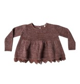 RYLEE AND CRU Peplum Sweater