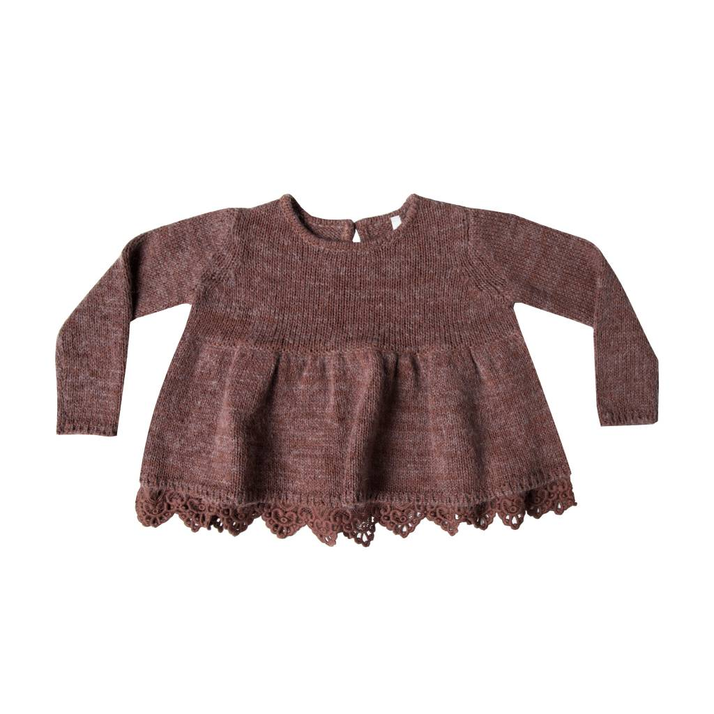 RYLEE AND CRU Peplum Sweater