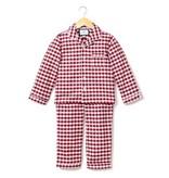 PETITE PLUME Gingham Flannel Pajamas