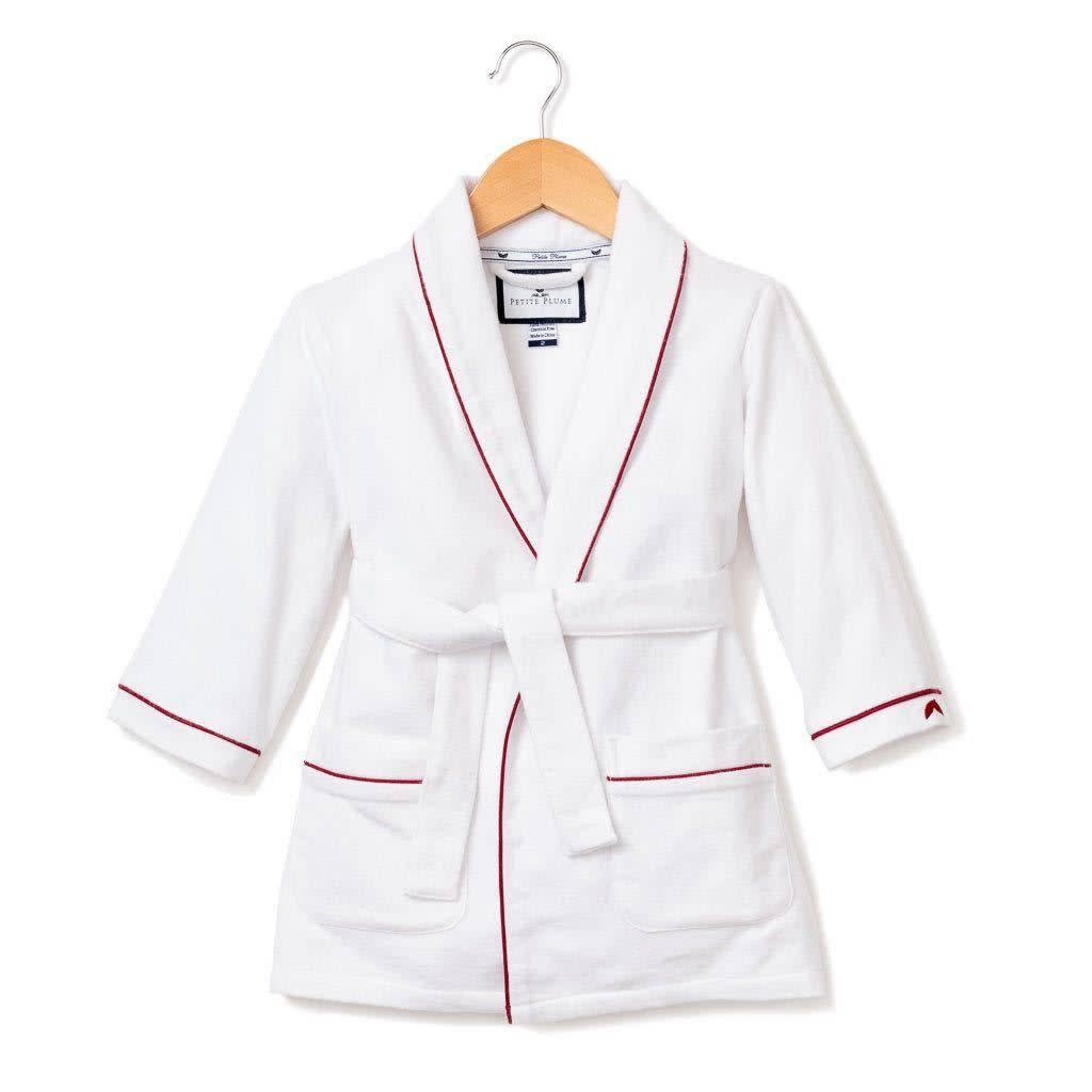 PETITE PLUME Flannel Robe