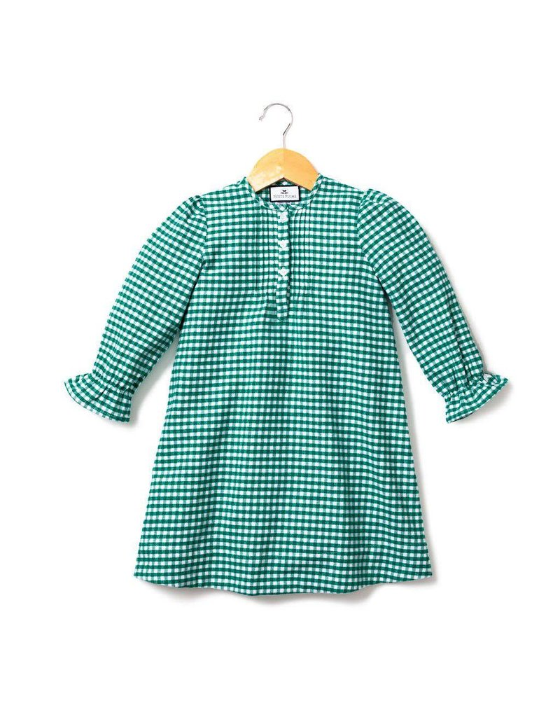 PETITE PLUME Gingham Flannel Beatrice Nightgown