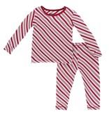 KICKEE PANTS Print Longsleeve Pajama Set