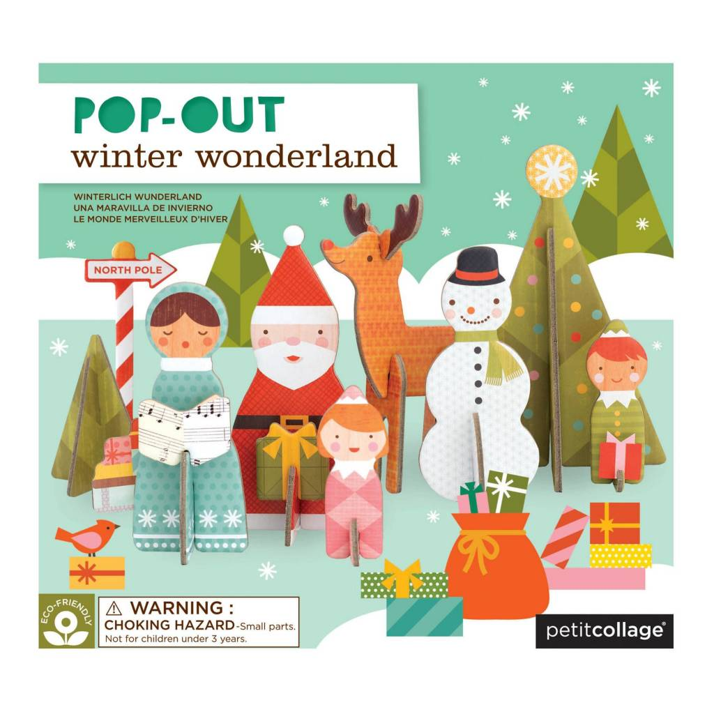 PETIT COLLAGE Winter Wonderland Pop-Out