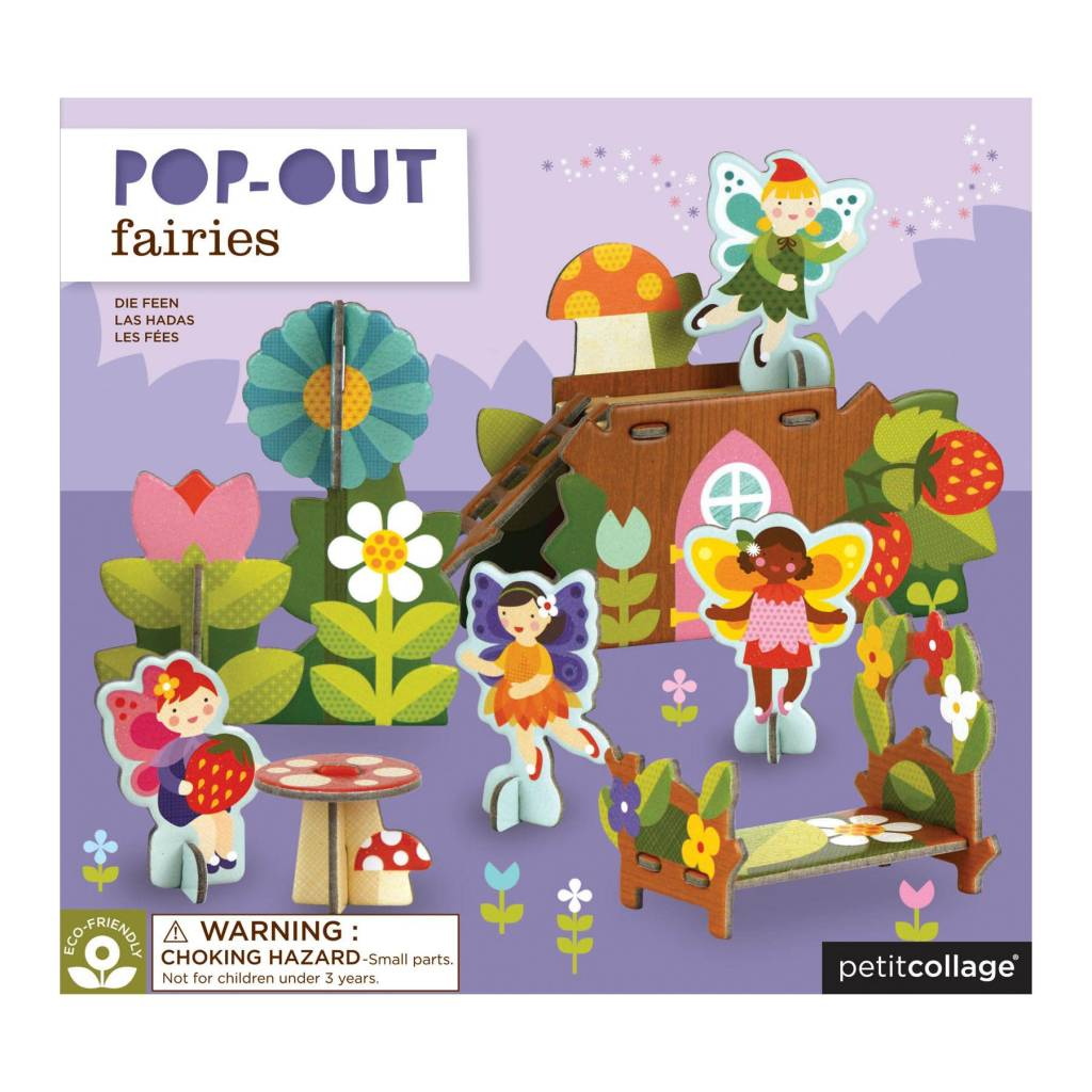 PETIT COLLAGE Fairies Pop-Out