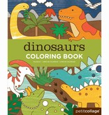PETIT COLLAGE Dinosaurs Coloring Book