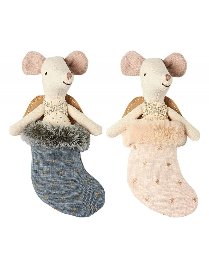 MAILEG Mouse Angel with Stocking