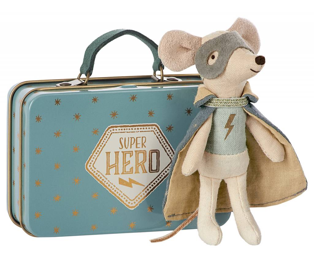 MAILEG Guardian Hero in Suitcase