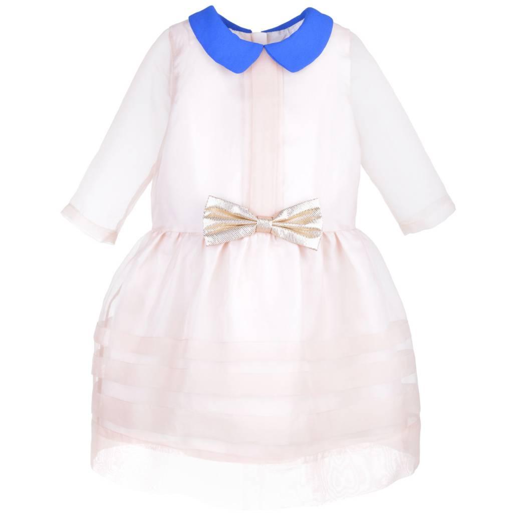 HUCKLEBONES Sheer Organza Tea Dress