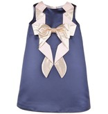 HUCKLEBONES Origami Bow Shift Dress