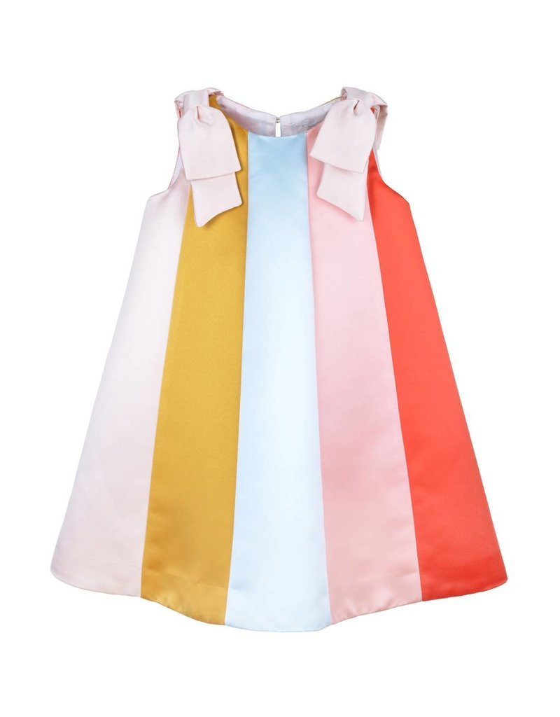 HUCKLEBONES Rainbow Trapeze Dress
