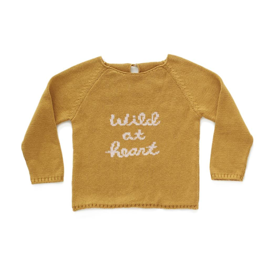 OEUF Wild at Heart Sweater