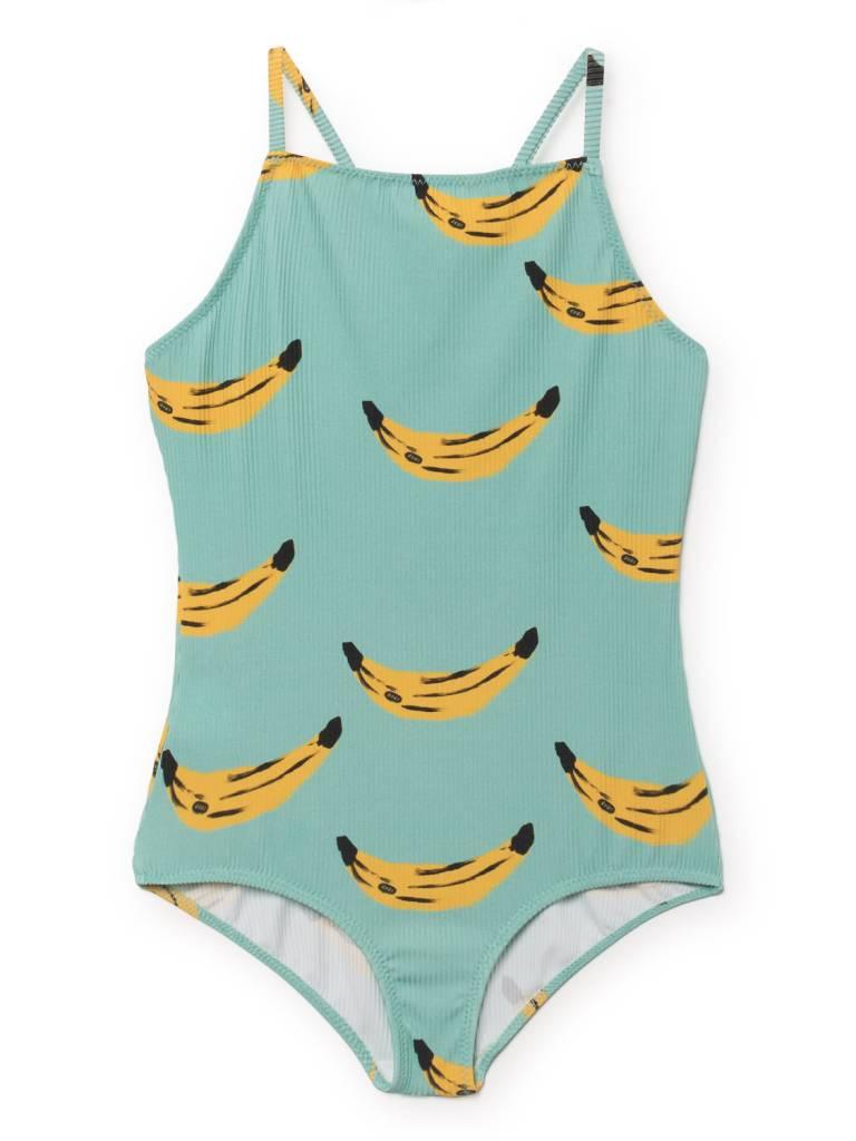 BOBO CHOSES Banana Spaghetti Straps Swimsuit
