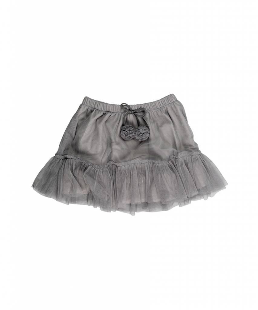HUX BABY Pom Pom Tulle Skirt