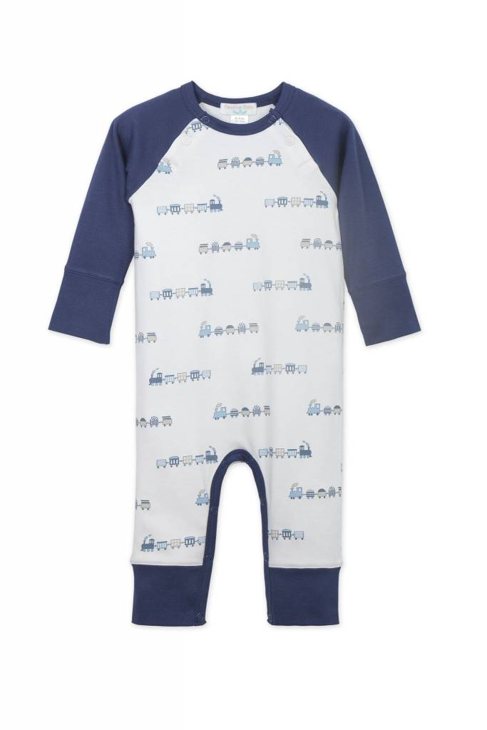 FEATHER BABY Sailor Sleeve Romper