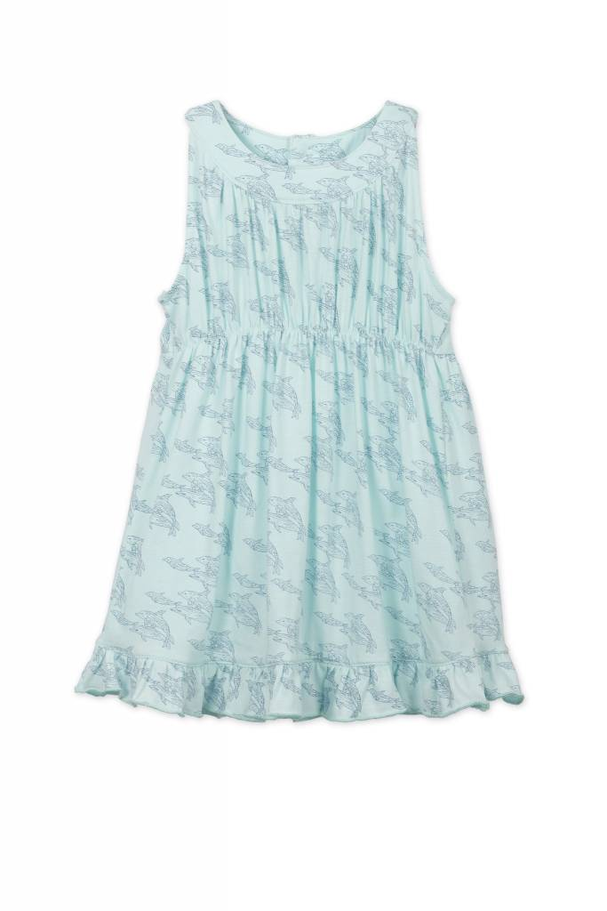 FEATHER BABY Gathered Dress