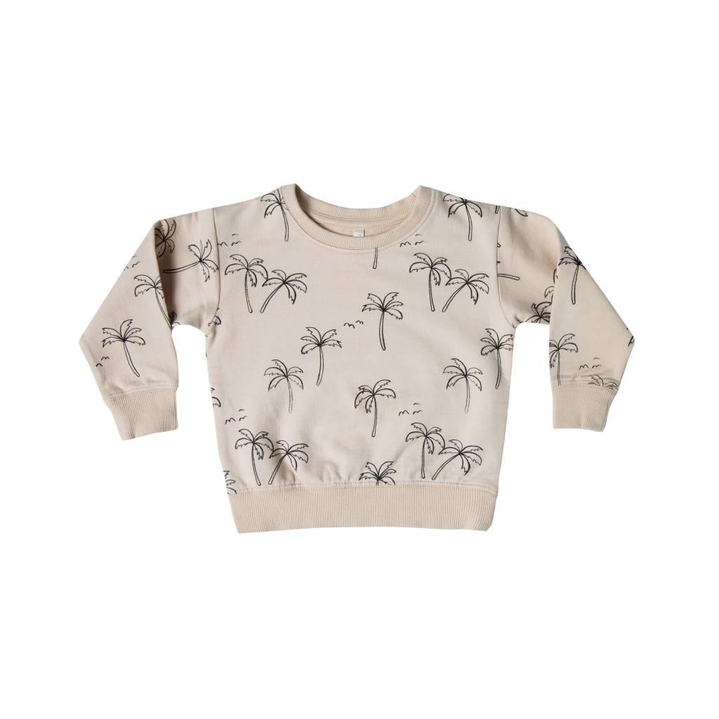 RYLEE AND CRU Palm Trees Baby Sweatshirt