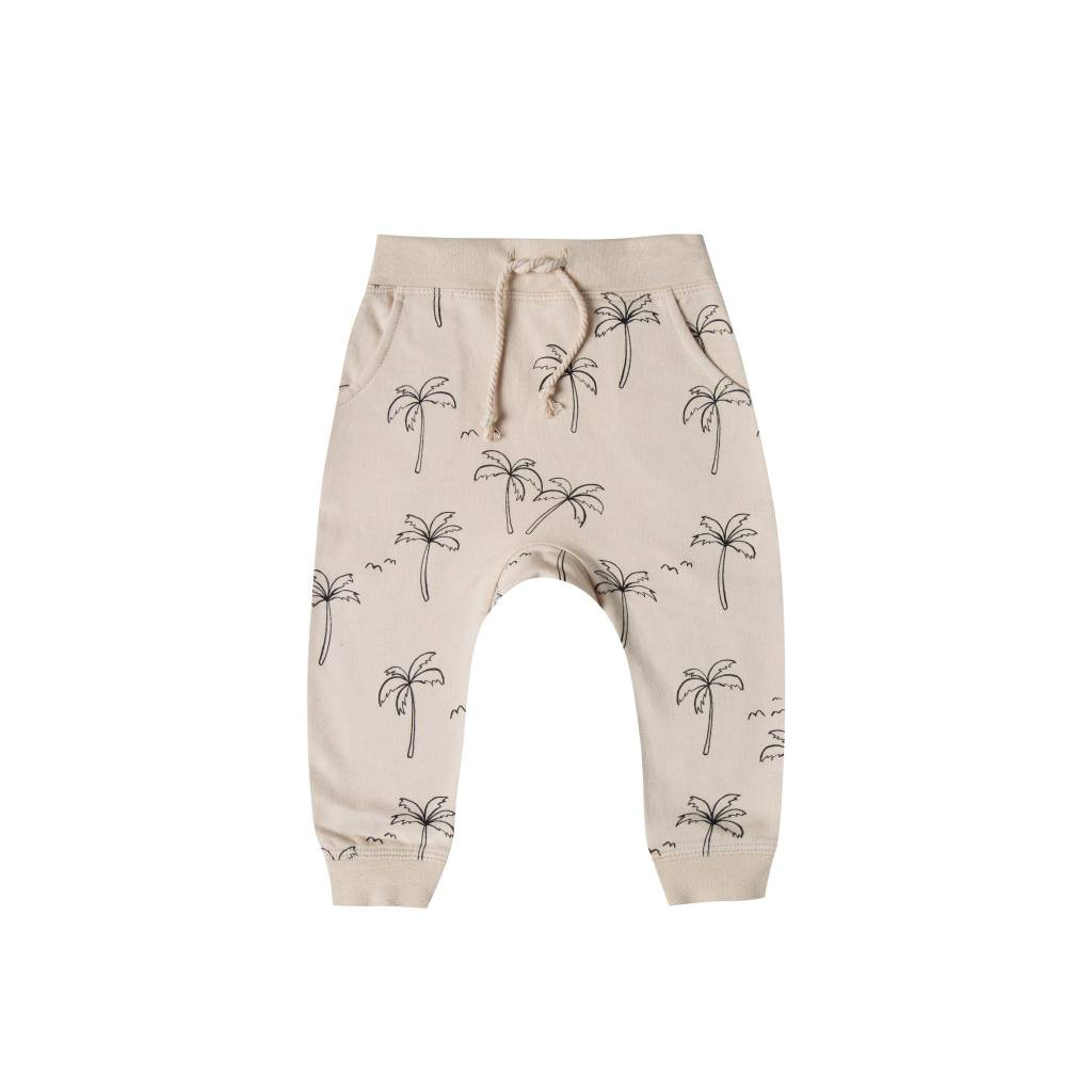RYLEE AND CRU Palm Trees Baby Sweatpants