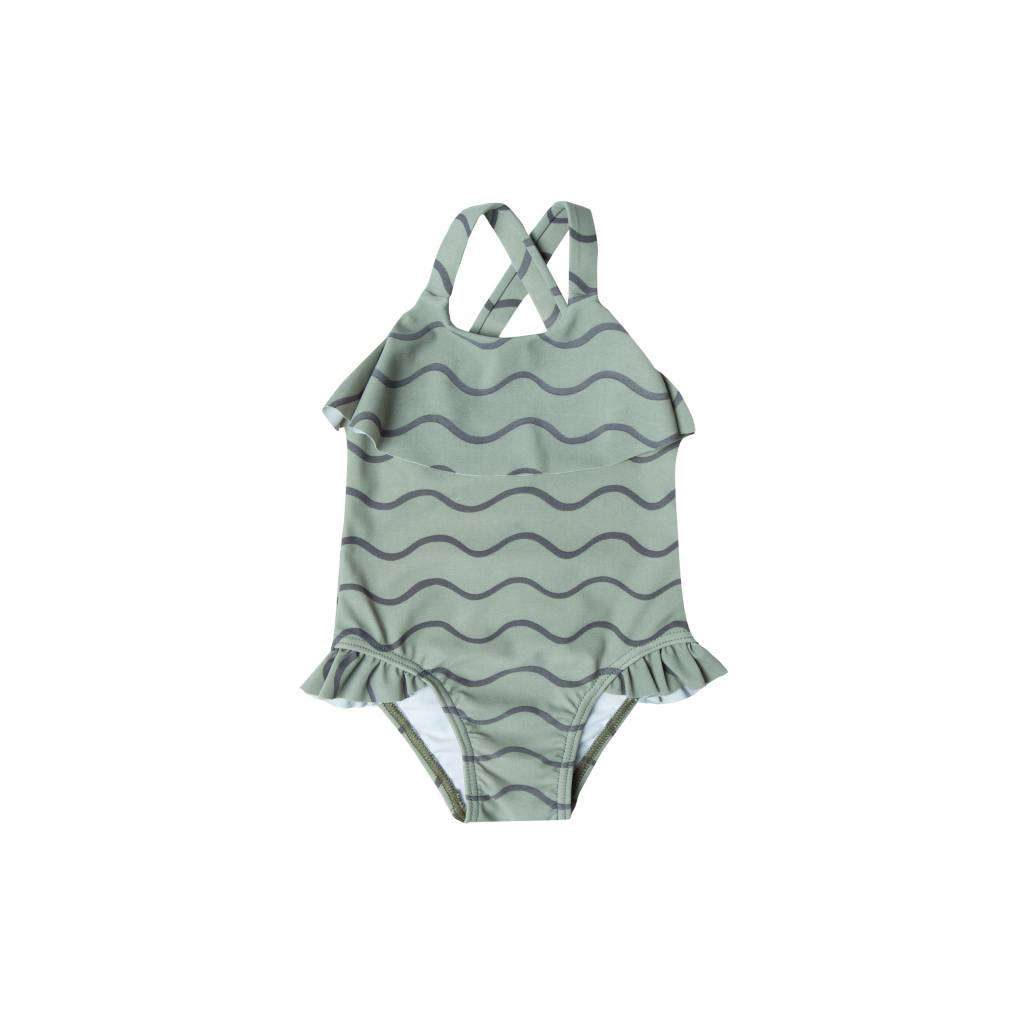 RYLEE AND CRU Rolling Waves Baby Swimsuit