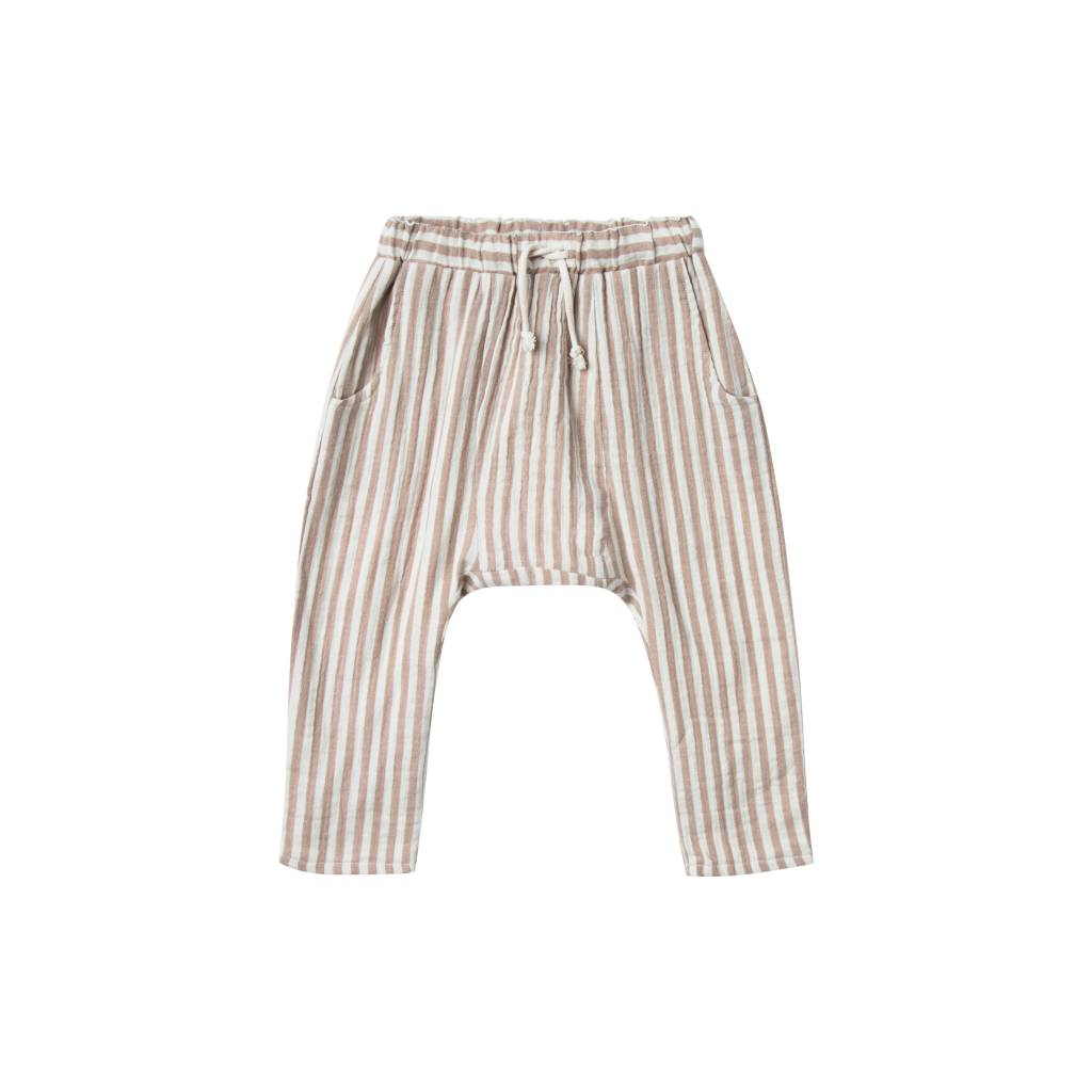 RYLEE AND CRU Cocoa Stripe Baby Pant