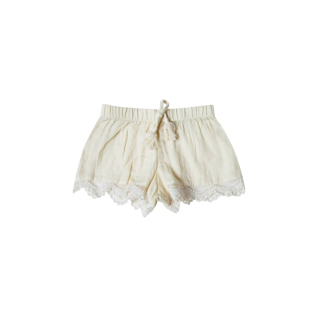 RYLEE AND CRU Scallop Shorts
