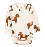MINI RODINI Horse Long Sleeve Body