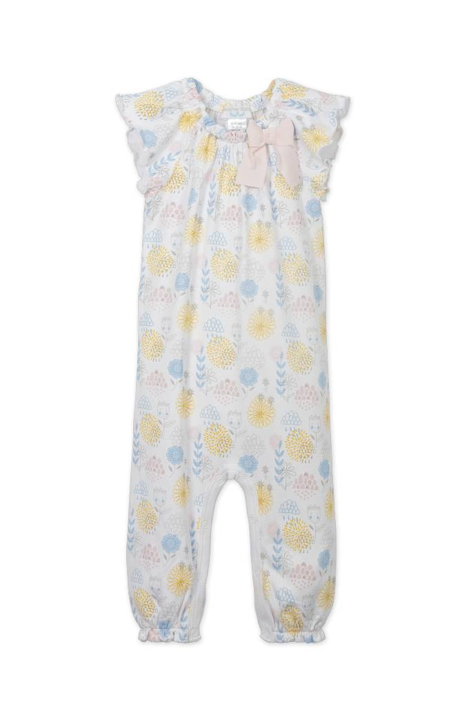 FEATHER BABY Bow Romper Mazie