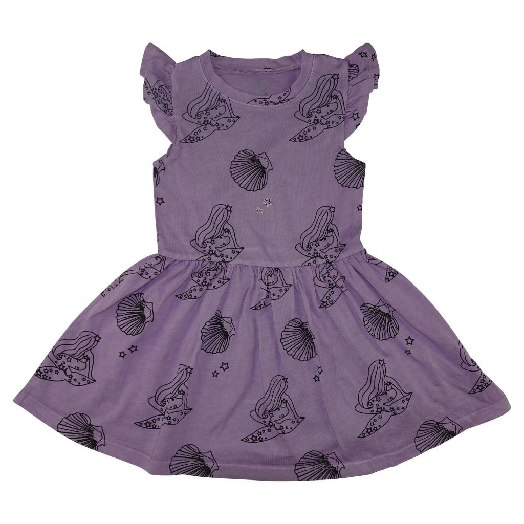 ICE CREAM CASTLES Mermaid Ruffle Tank Dress