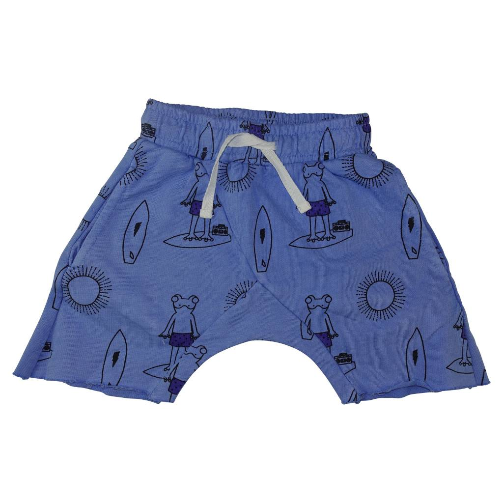 ICE CREAM CASTLES Frog Print Harem Short