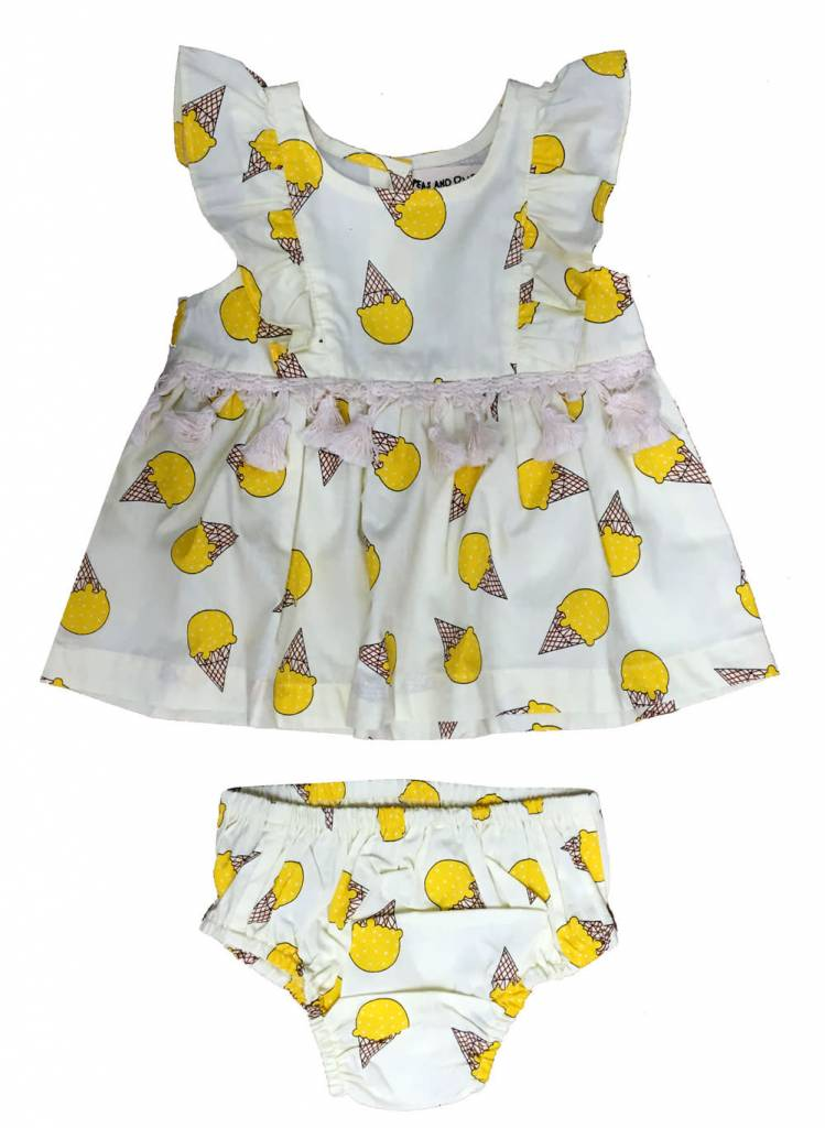 PEAS AND QUEUES Isla Baby Dress